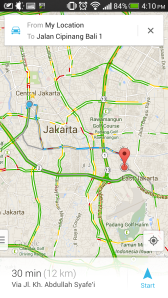 Google Maps - Route 2