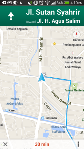 Google Maps - Navigation