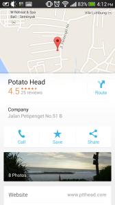Google Maps - Places